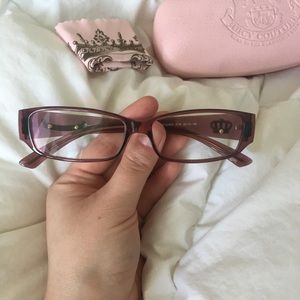 Juicy Couture Drama Queen frames & case